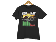 "T-SHIRT ""BULL VS BEAR"" - ClubMillionnaire Shop"