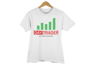 "T-SHIRT ""DAY TRADER"" - ClubMillionnaire Shop"