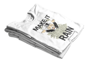 "T-SHIRT ""MAKE IT RAIN"" - ClubMillionnaire Shop"