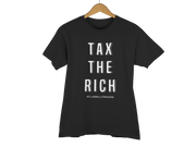 "T-SHIRT ""TAX THE RICH"" - ClubMillionnaire Shop"