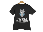 "T-SHIRT ""THE WOLF OF ALL STREETS"" - ClubMillionnaire Shop"
