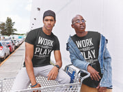 "T-SHIRT ""WORK HARD, PLAY HARD"" - ClubMillionnaire Shop"