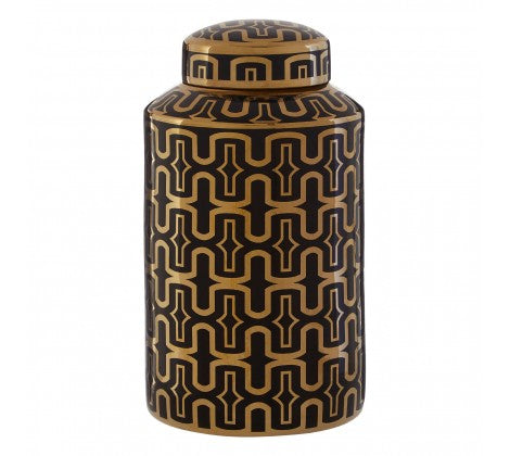 Black and Gold Jar