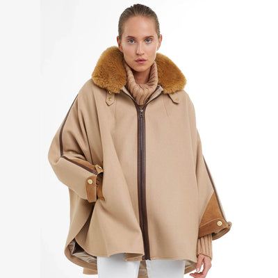 Holland Cooper Chiltern Cape - Camel