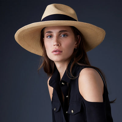 Holland Cooper Jessica Hat - Natural