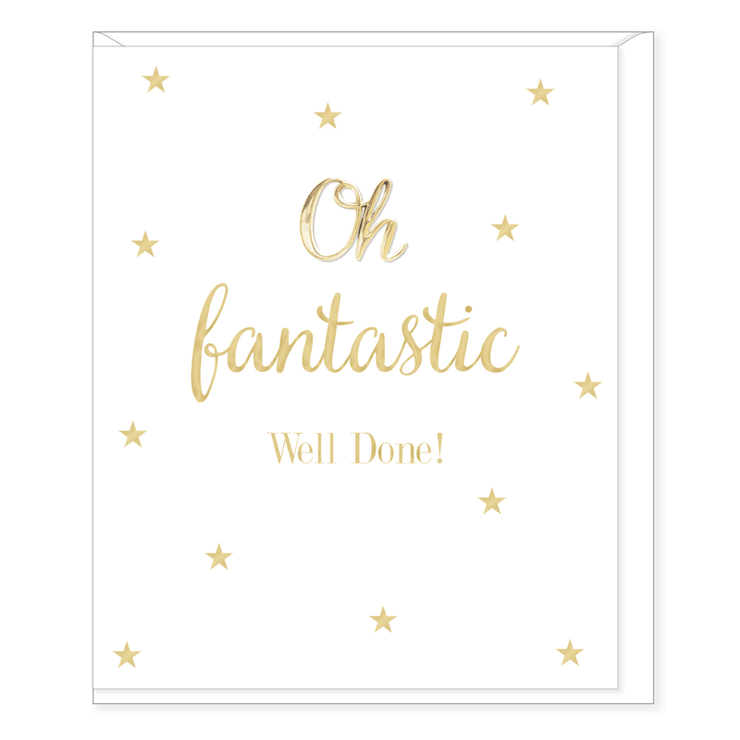Oh Fantastic Well Done Card