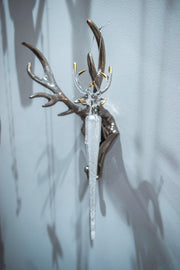 Glass Reindeer Icicle