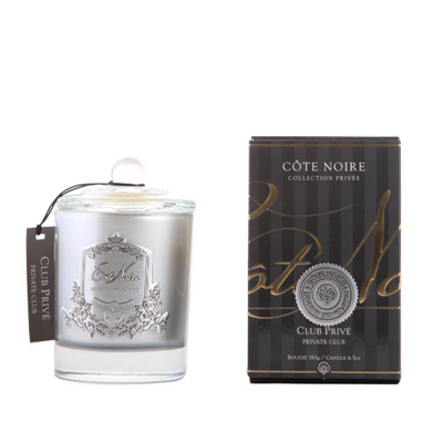 Côte Noire Private Club Silver Candle - 185g