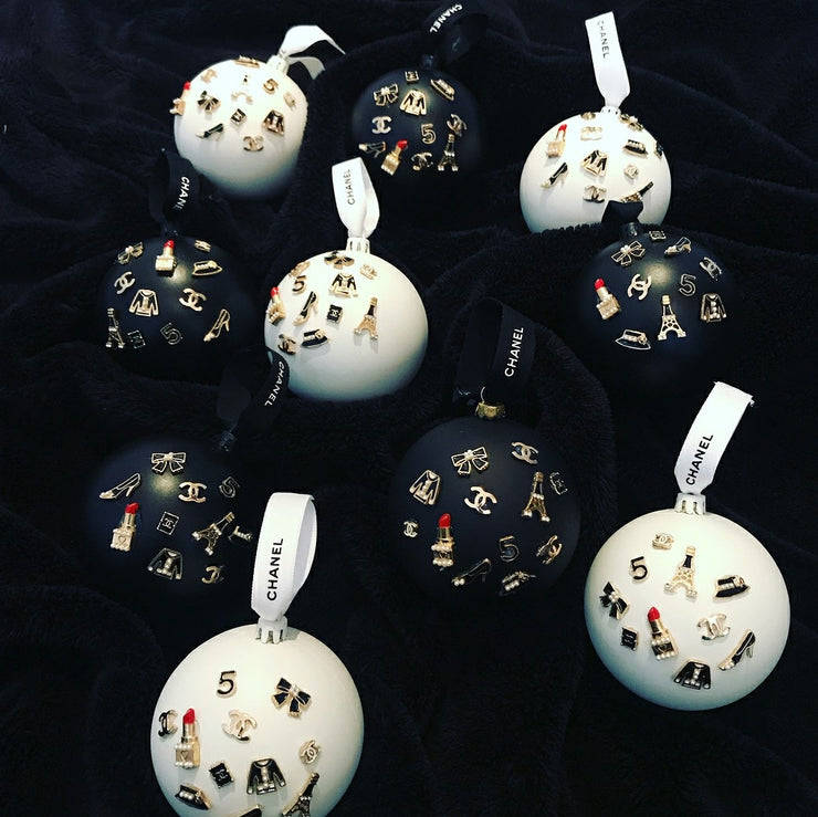 Handmade Parisian Inspired Bauble