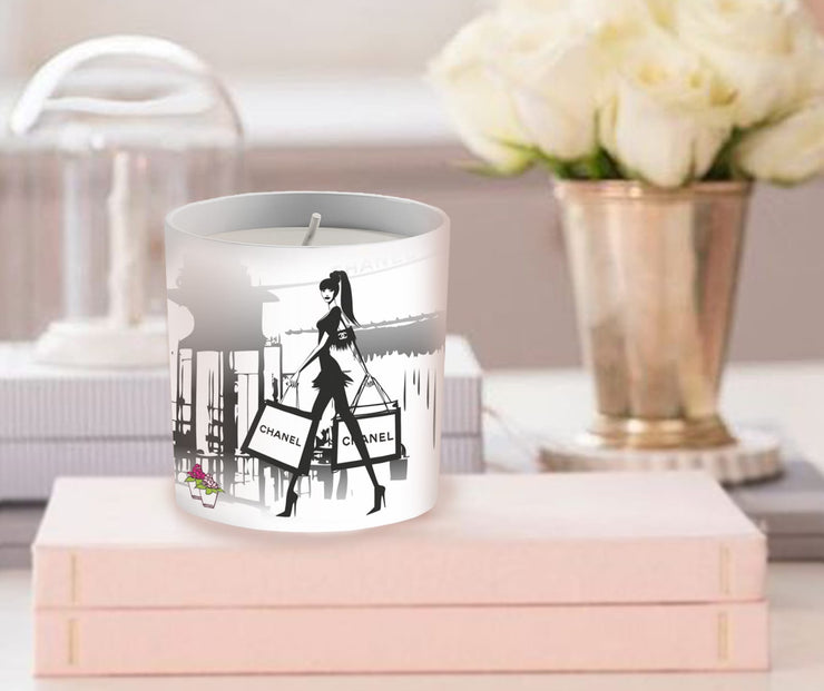 Ch anel Inspired Fashion Candle