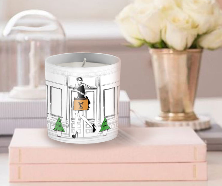 VL Inspired Fashion Candle