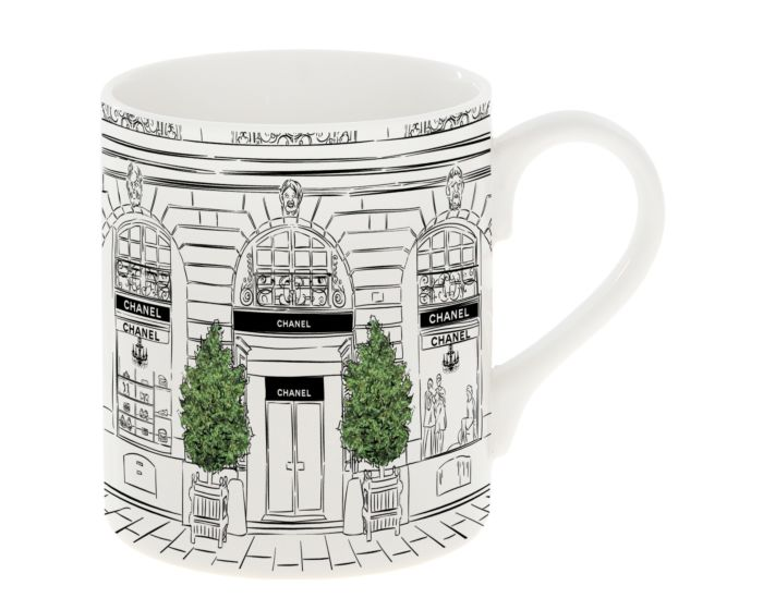 Chanel Designer-inspired Window Shopping Mug