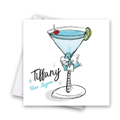 Tiffany Blue Lagoon Card