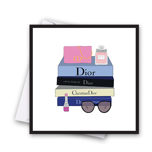 Dior Fashion Book Card