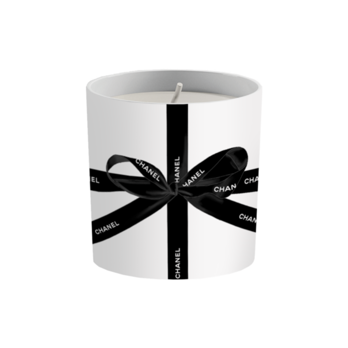 C hanel Black Bow Candle