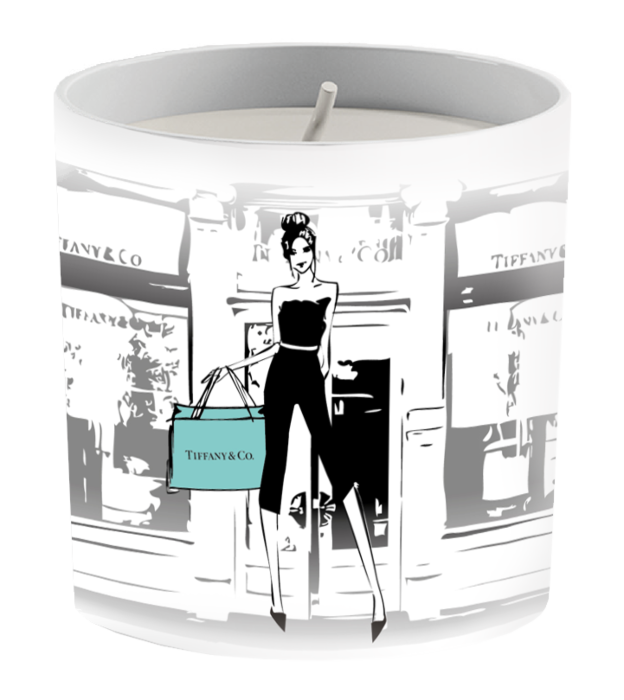 Tiffany Inspired Fashion Candle