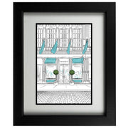 Window Shopping Designer-Inspired Framed Print - Chanel Shop Front
