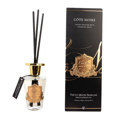 Côte Noire French Morning Tea Gold Diffuser Set - 150ml