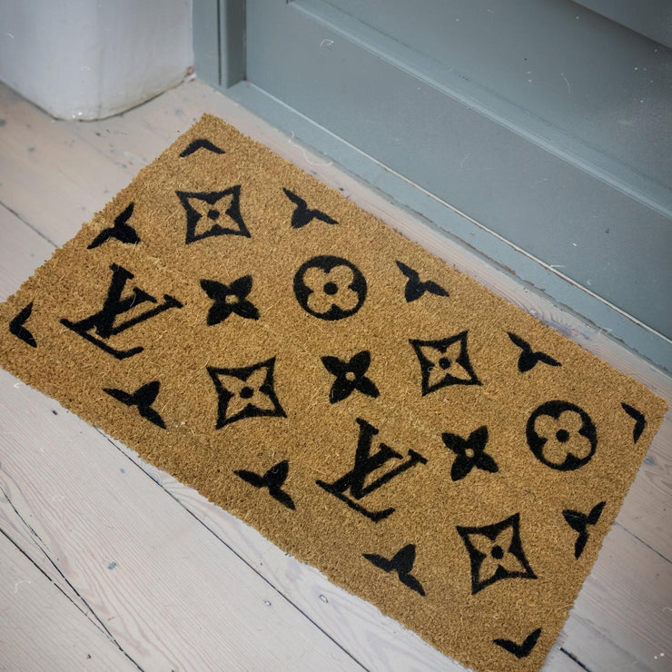Hand-painted Patterned Doormats