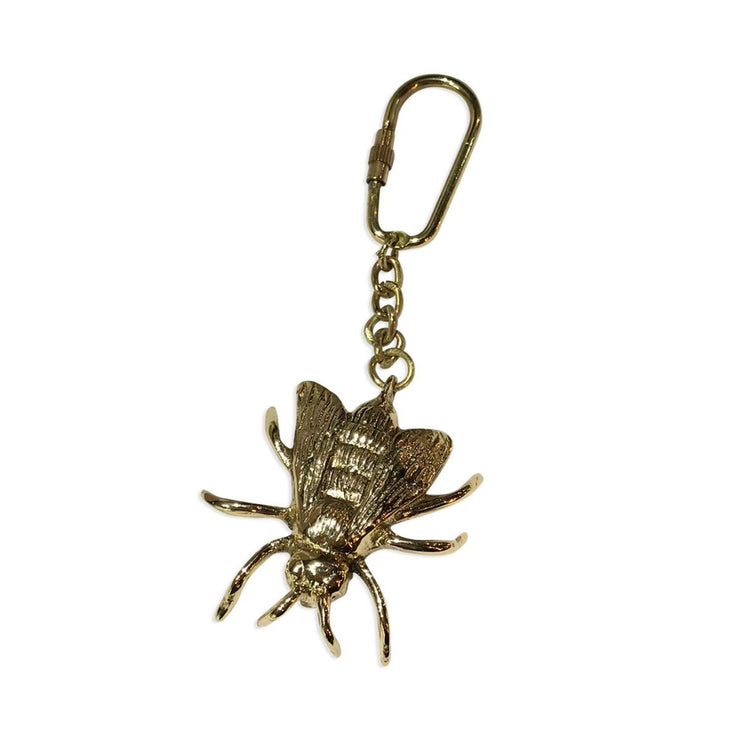 Culinary Concepts Bee Key Ring - Gold Finish