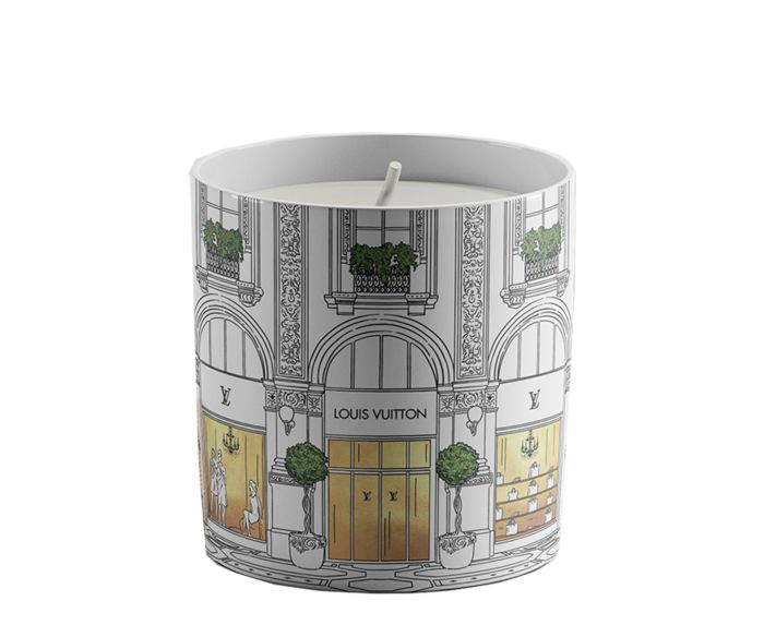 Louis Vuitton Designer-inspired Window Shopping Candle