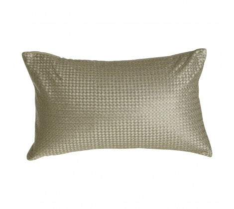 rectangular Metallic waffle cushion
