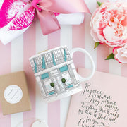 Tiffany Designer-inspired Window Shopping Mug