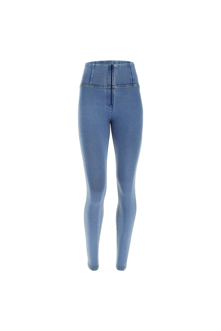 Freddy Jeans - WR.UP® High-Rise Skinny Fit Trousers in Light Demin-Effect Fabric