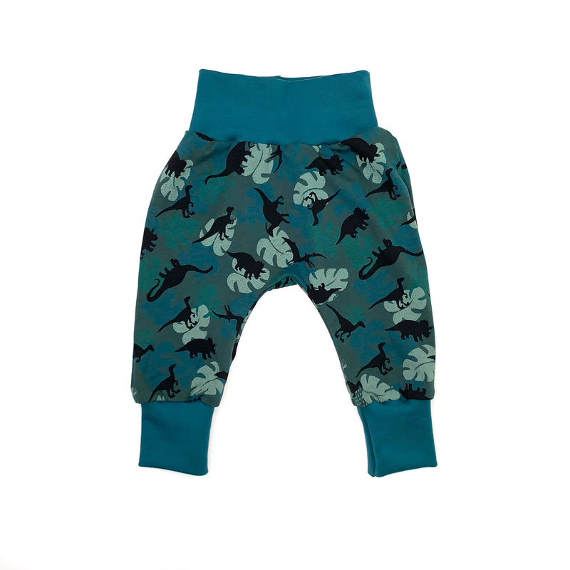 Leafy Dinos Baby and Children's Harem Pants