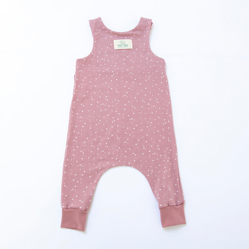 Rose Dots Baby and Children's Romper