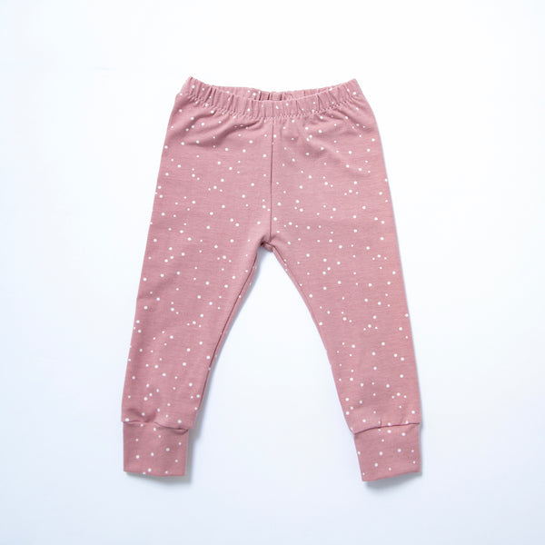 Rose Dots Baby and Children's Leggings