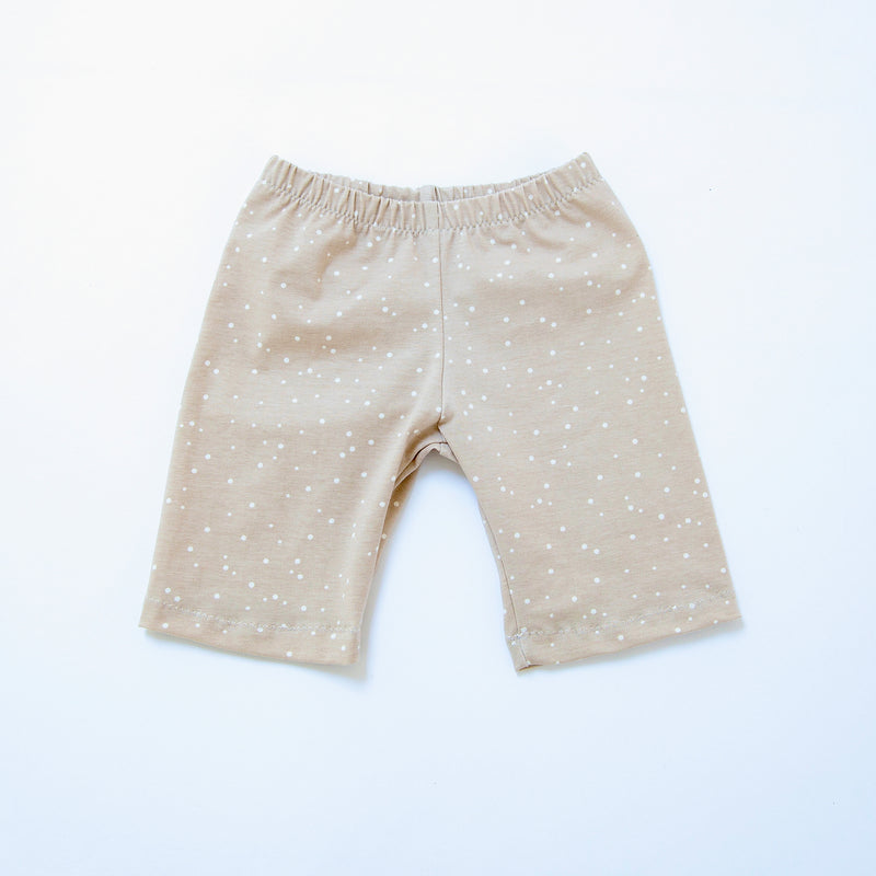 Cappuccino Dots Baby and Children's Shorts