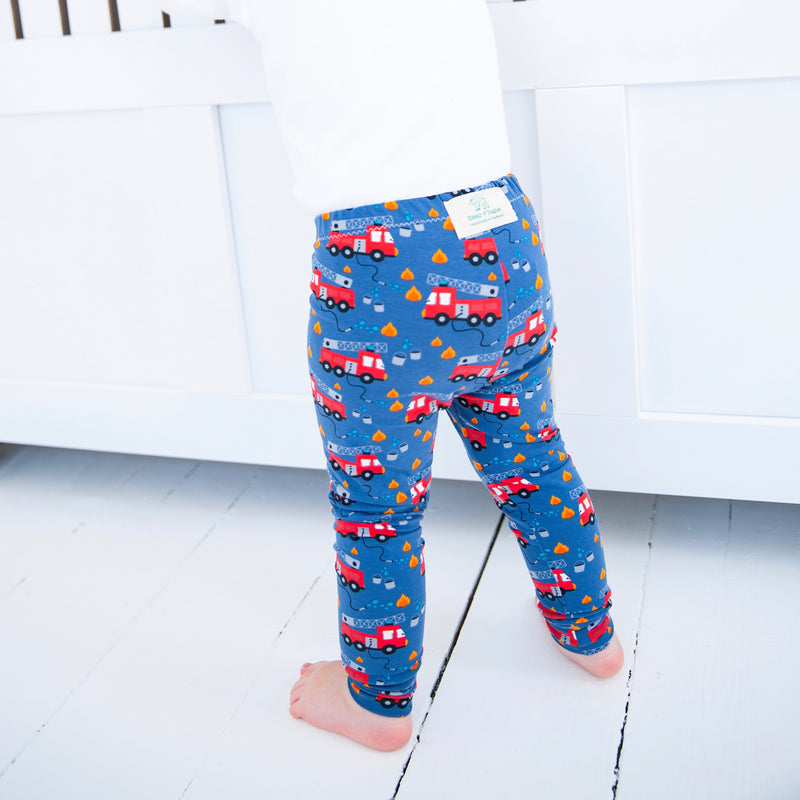 Fire Trucks Baby and Children's Leggings