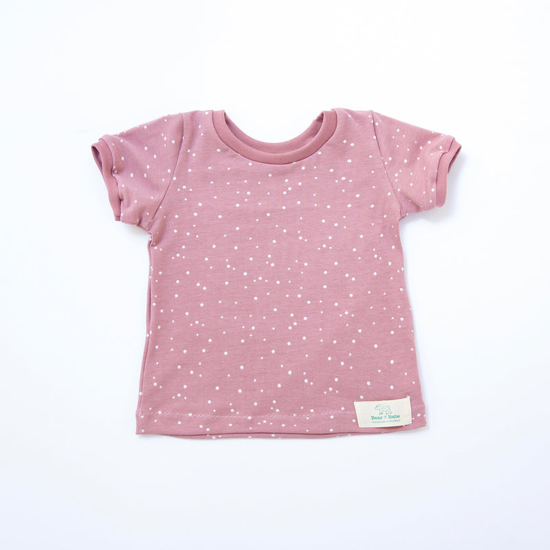 Rose Dots Baby and Children's T-shirt