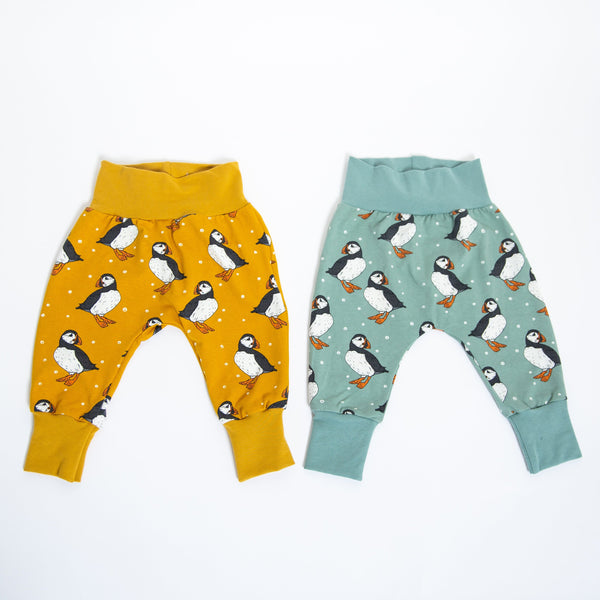 Puffins Baby and Children's Harem Pants