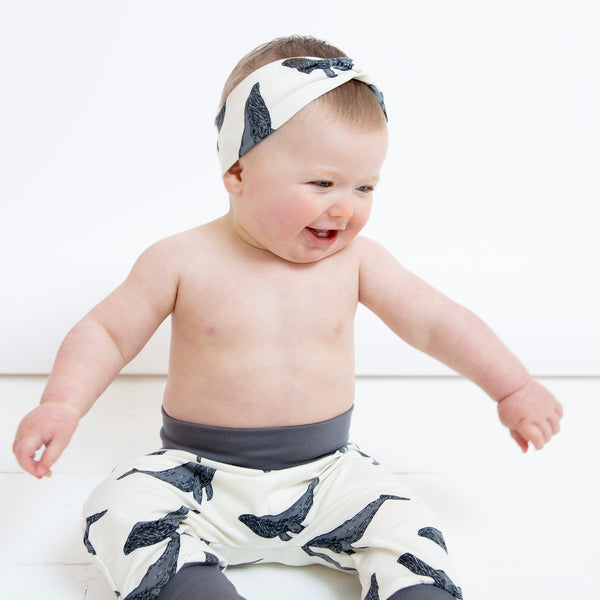 Whales Baby and Children's Twist Headband