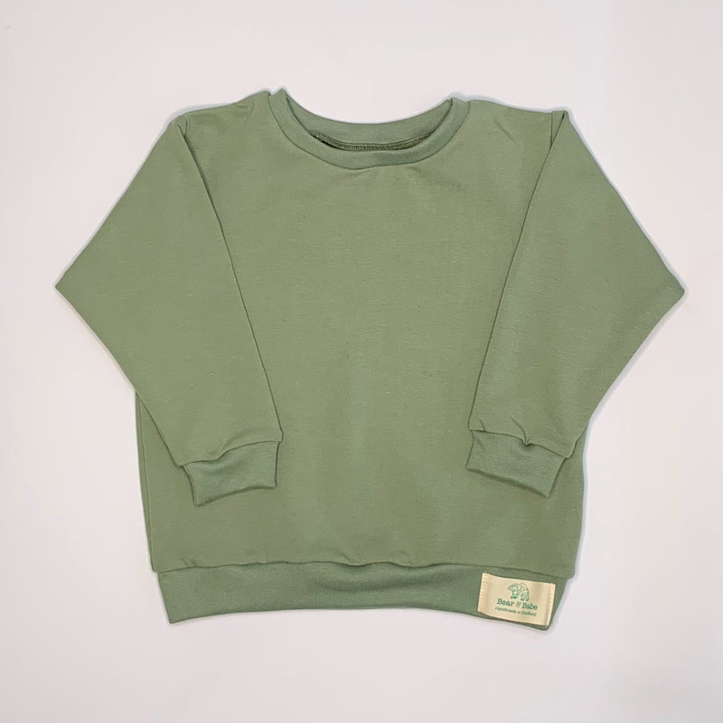 Sage Baby and Children's Sweater