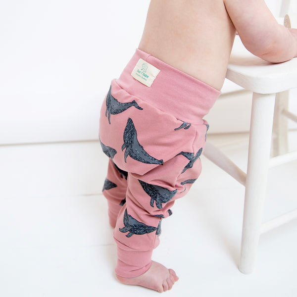 Rose Whales Baby and Children's Harem Pants