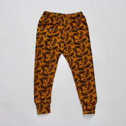 Mustard Feathers Baby and Children's Leggings
