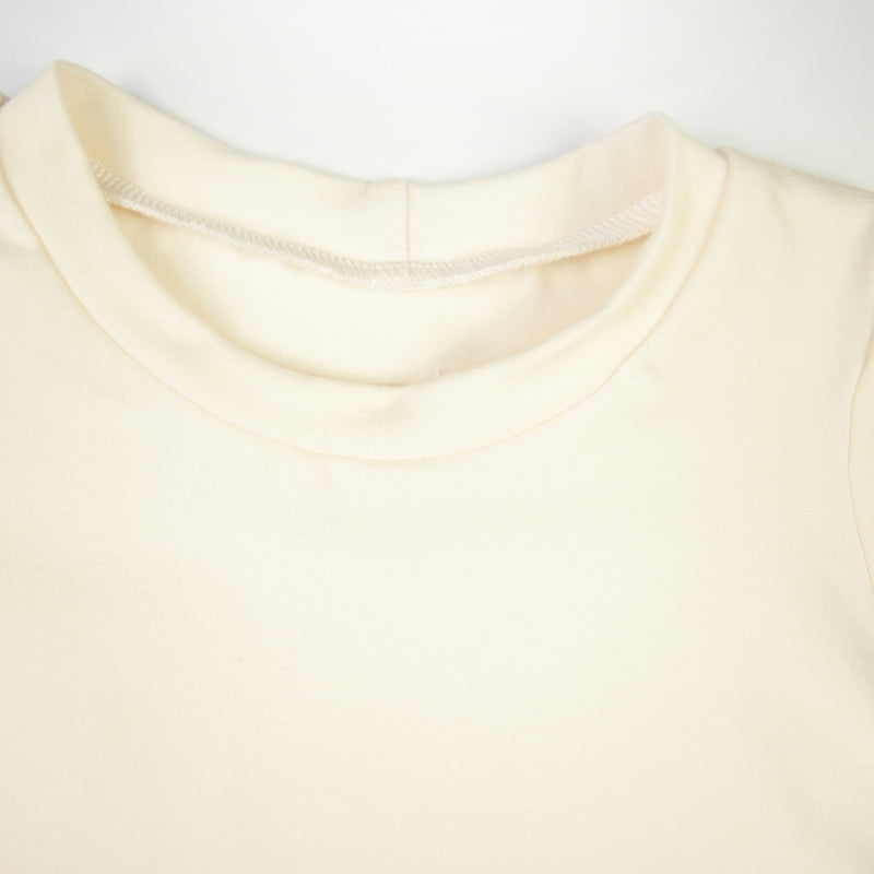 Cream Baby and Children's Long Sleeved Tee