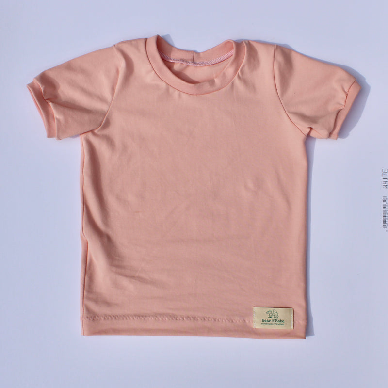 Pink Baby and Children's T-shirt