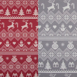 Reindeer Fair Isle Baby and Children's Sweater (Ready to Ship)