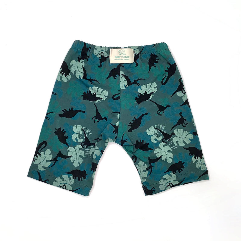 Leafy Dinos Baby and Children's Shorts