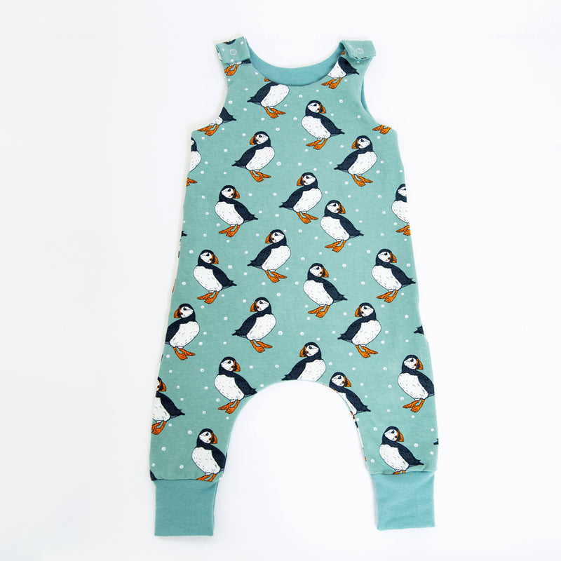 Puffins Baby and Children's Romper