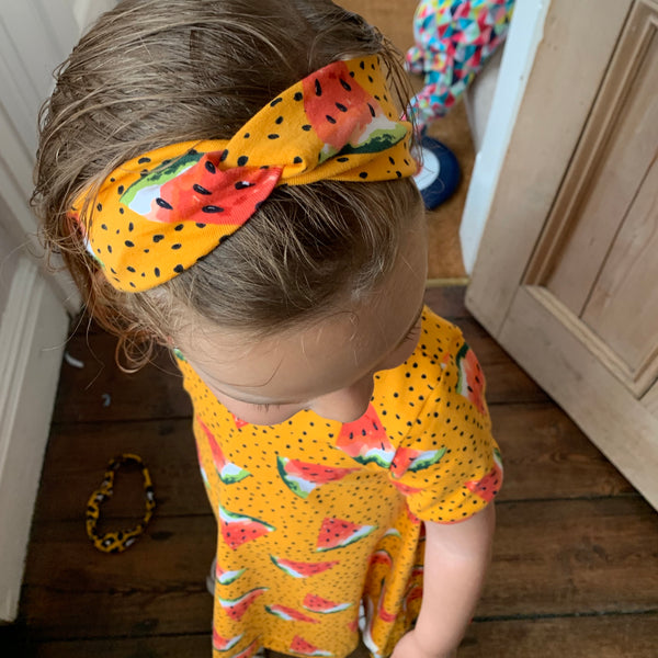 Gold Baby and Children's Twist Headband