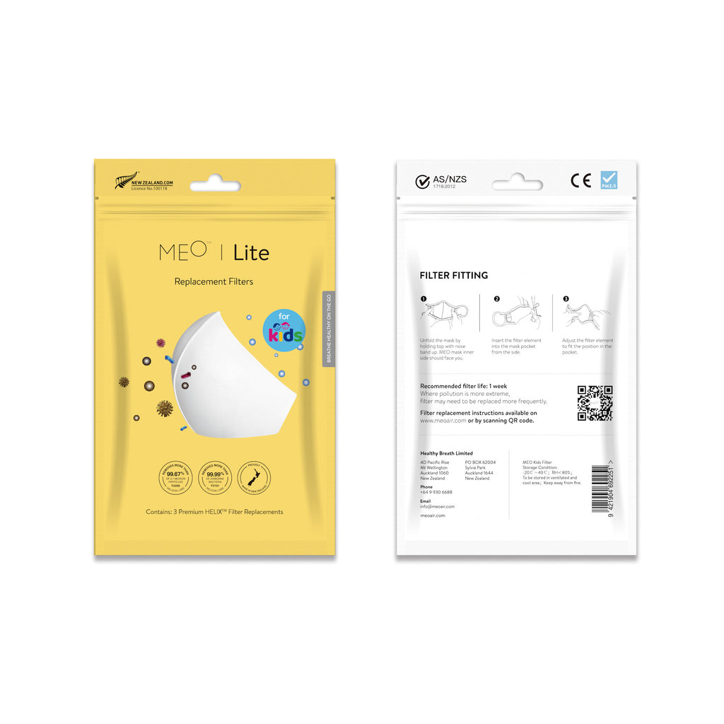 MEO | Helix Kids Filter Pack of 3