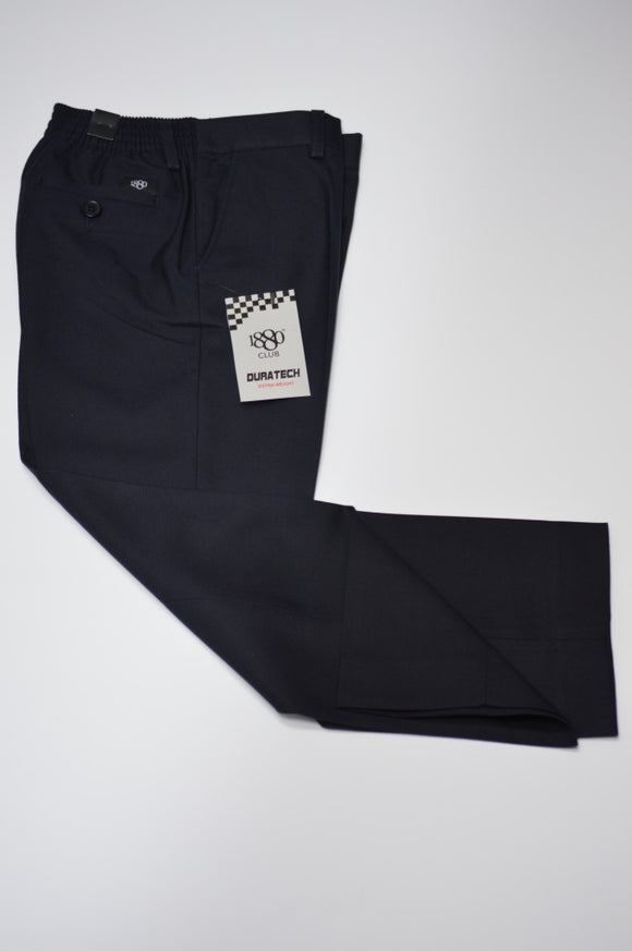 1880 Club Boys Elasticated Navy Trousers