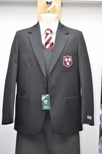 1880 Club Girls Black Badged Blazer Saintfield High