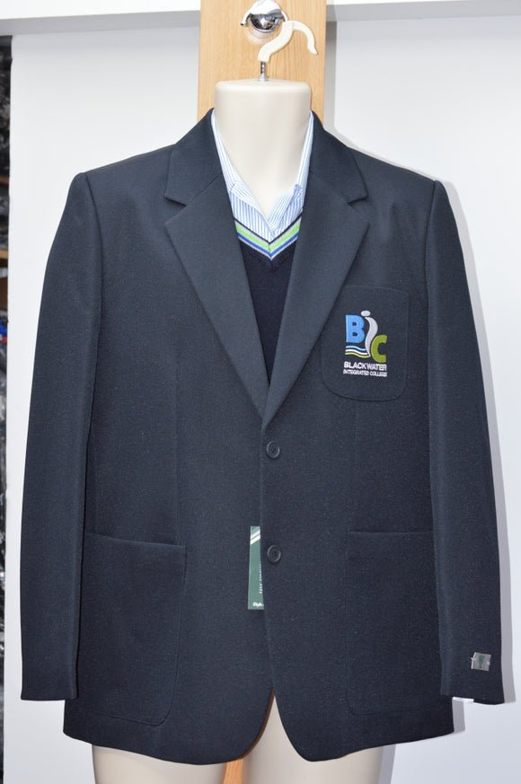 1880 Club Girls Navy Badged Blazer - Blackwater Integrated College