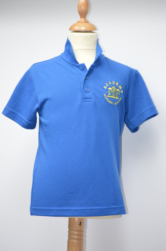 Academy Nursery Blue Polo